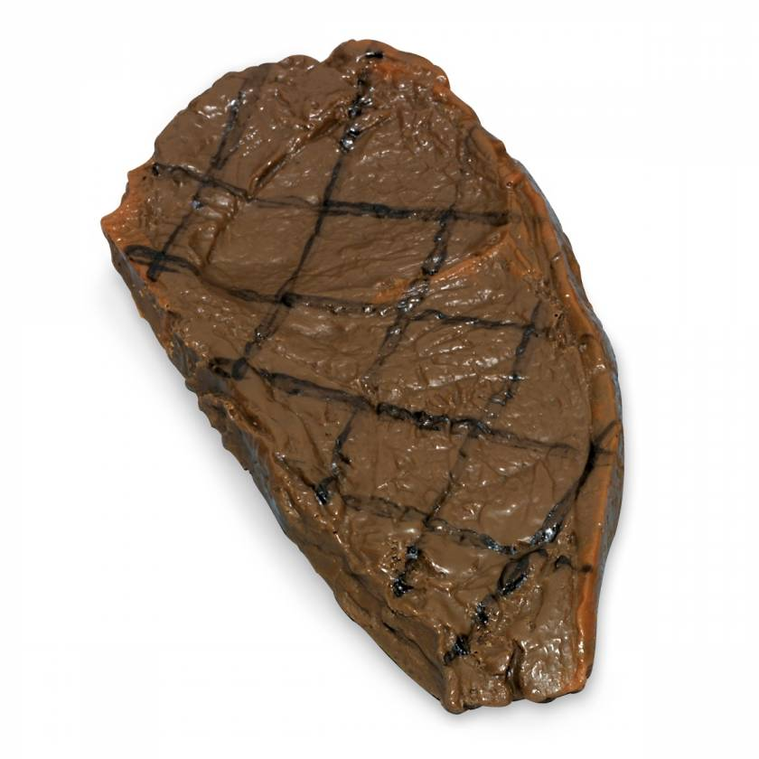 Life/form Steak Food Replica - Strip - Grilled
