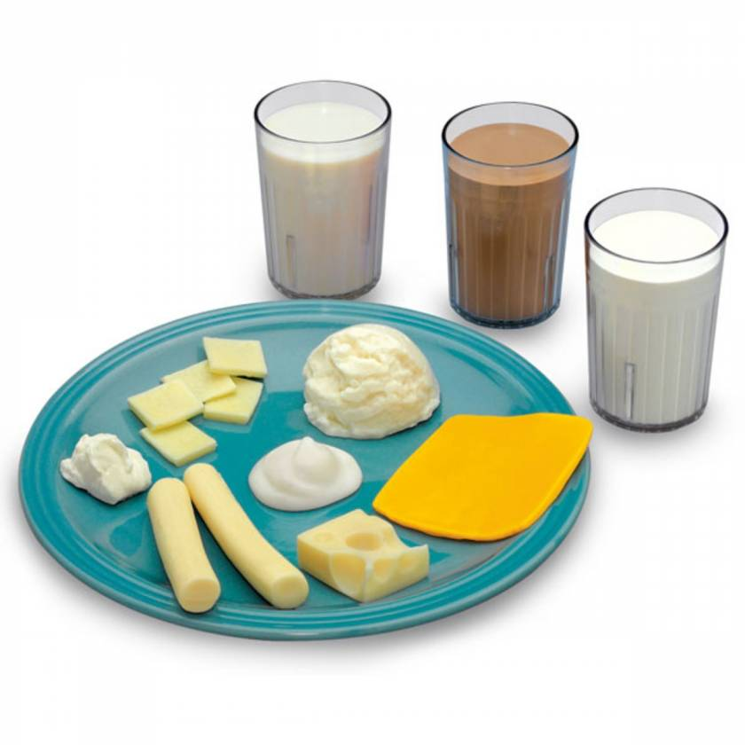Life/form Big Milk Food Replica Kit