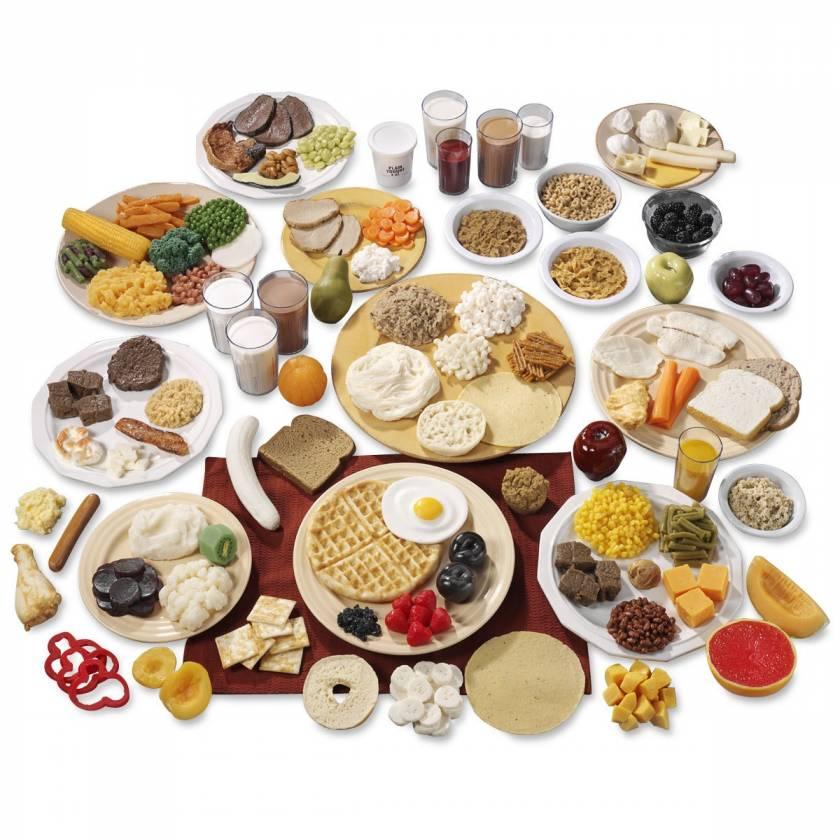 Life/form Basic and Big Kits - 10 Food Replica Group Sets