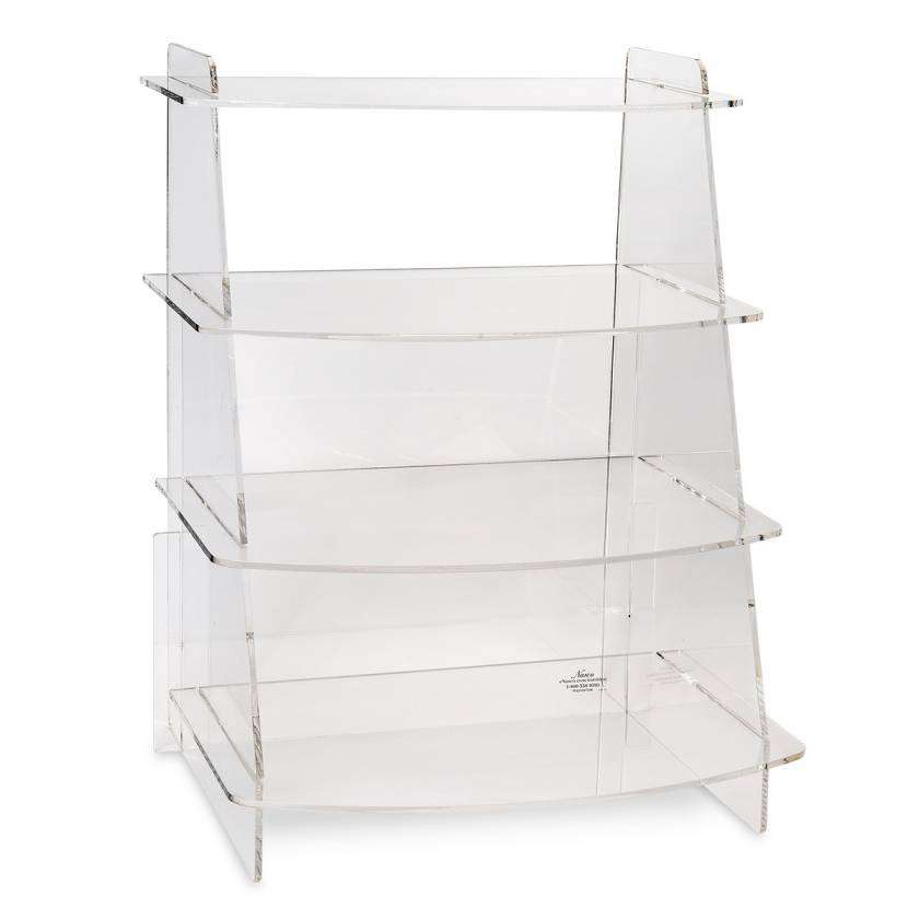 MyPlate Display Rack - 22-1/2 in. H x 17 in. W x 13-1/4 in. D