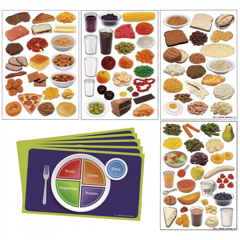 Life/form MyPlate Complete Cling Kit
