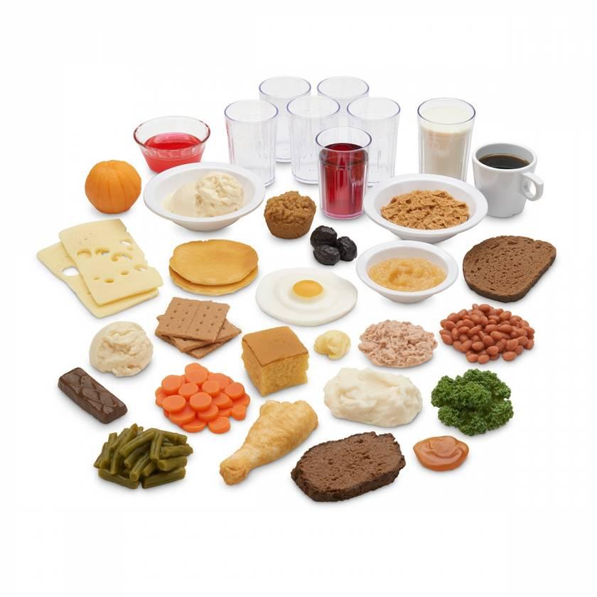 Life/form Older Americans Food Replica Kit