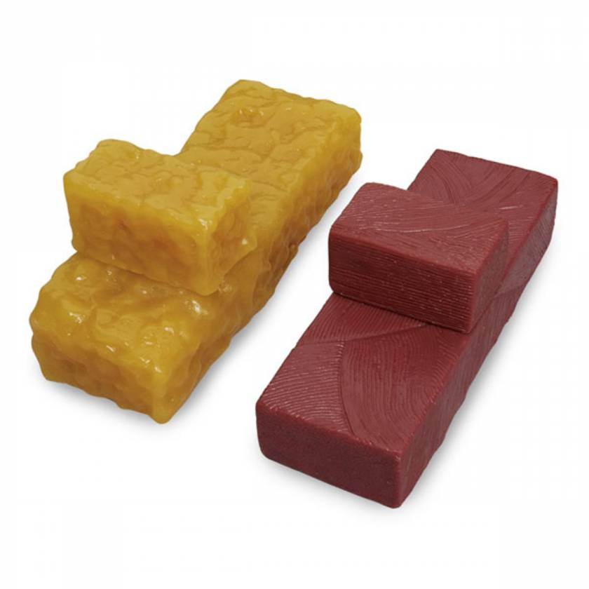 Life/form Body Fat Brick Replicas and Life/form Body Muscle Brick Replicas - Set of 4