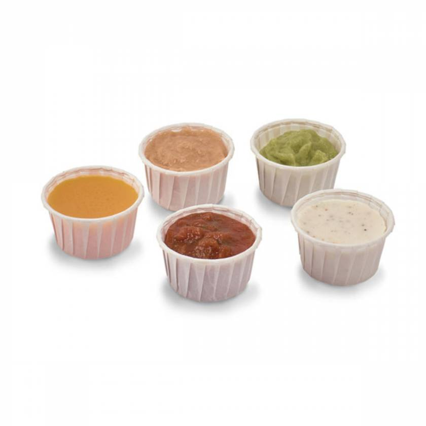 Life/form Dipping Sauces Food Replica - Set of 5