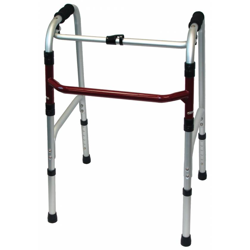 MRI Non-Magnetic Bariatric Folding Walker - Adult