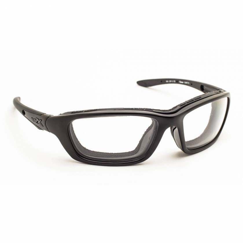 Wiley-X Brick Radiation Glasses - Black Ops Matte Black