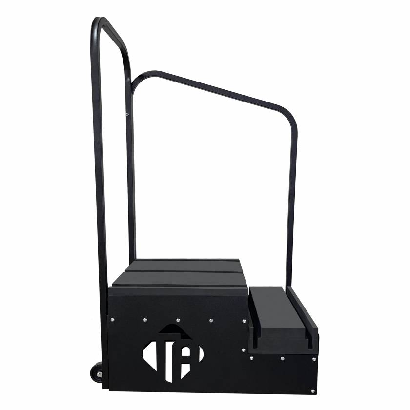 Techno-Aide WMP-16 Mobile Two-Step Weight Bearing Imaging Platform - Comfort Closed Cell Steps