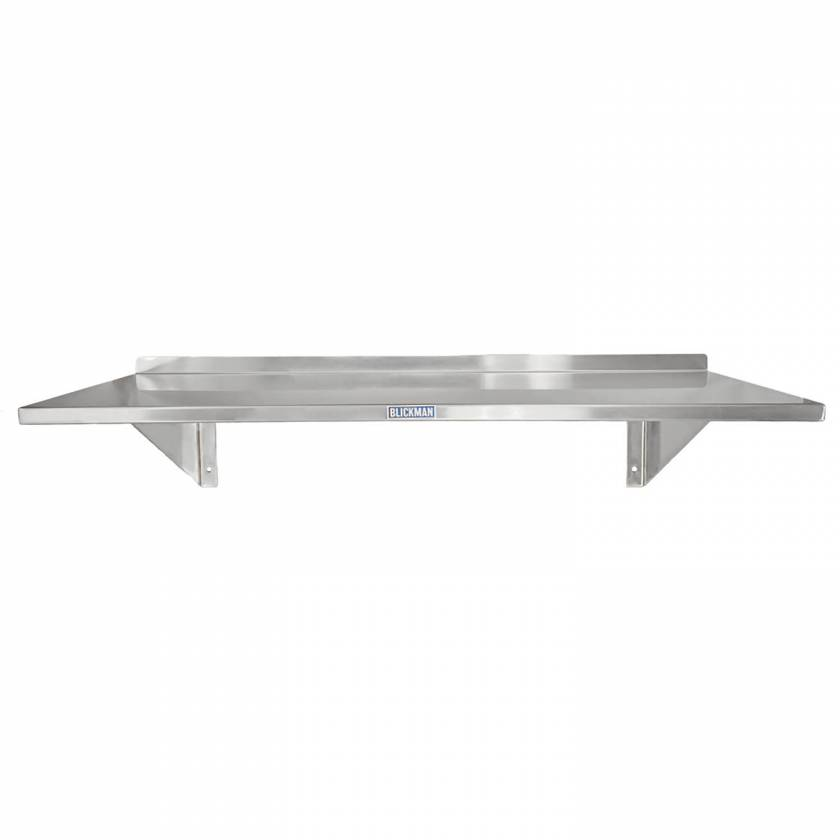 Blickman Stainless Steel Wall Shelf