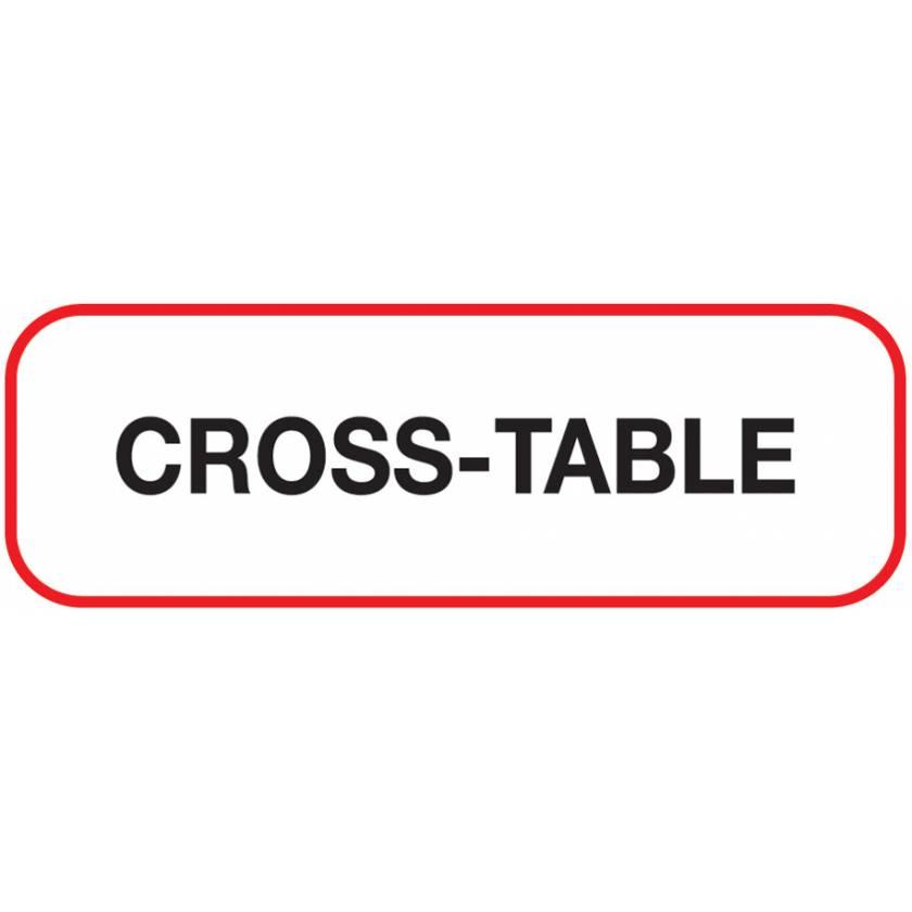 CROSS-TABLE Label