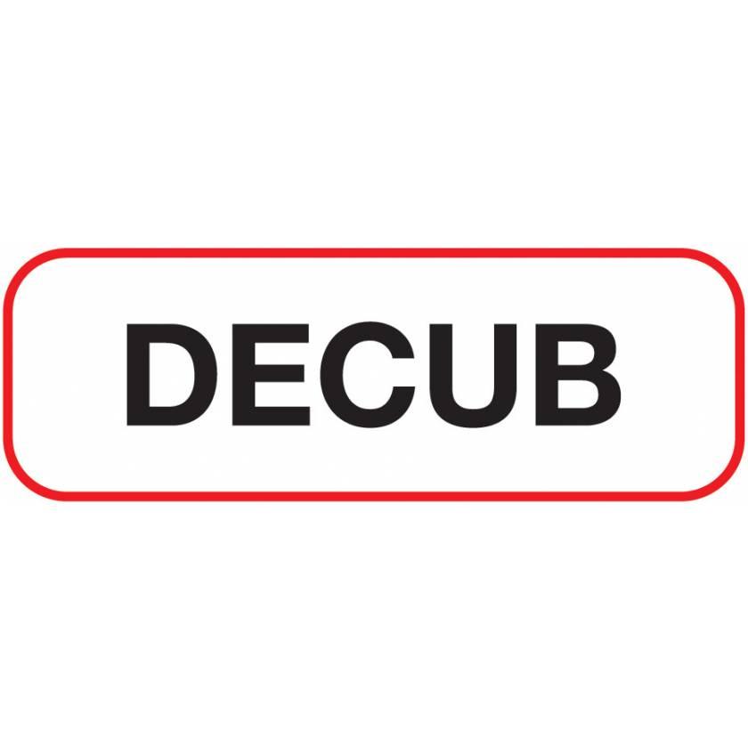 DECUB Label
