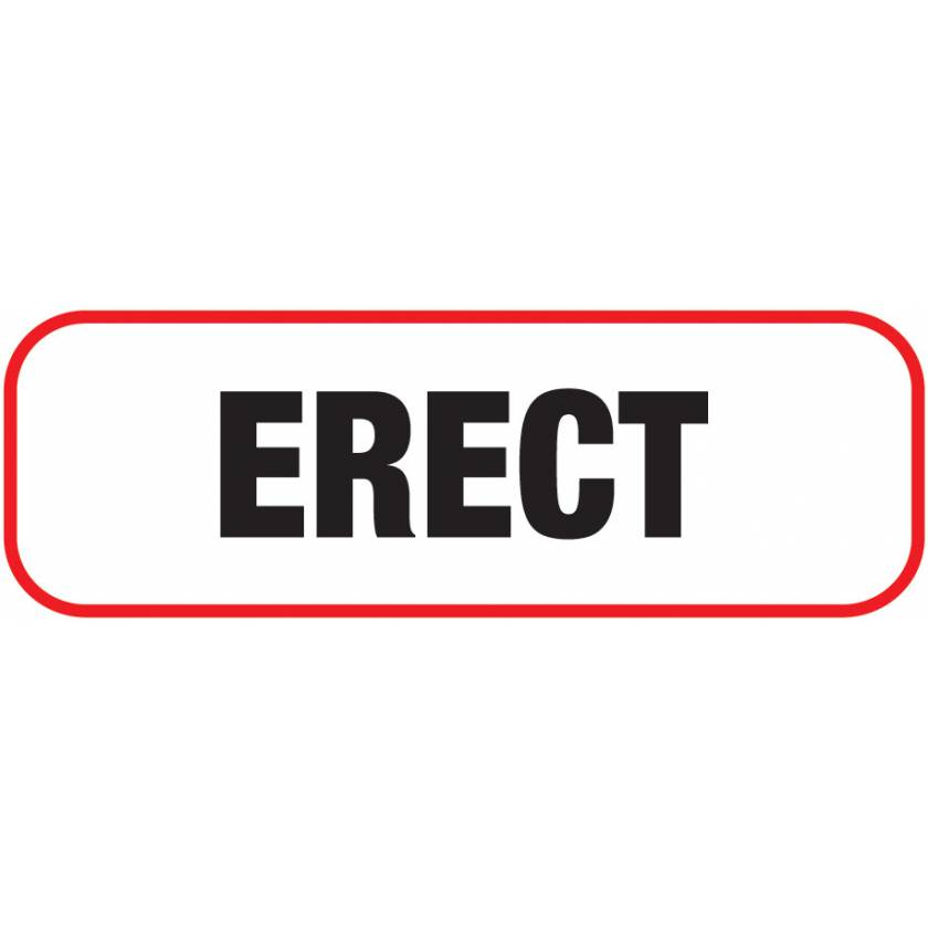 ERECT Label