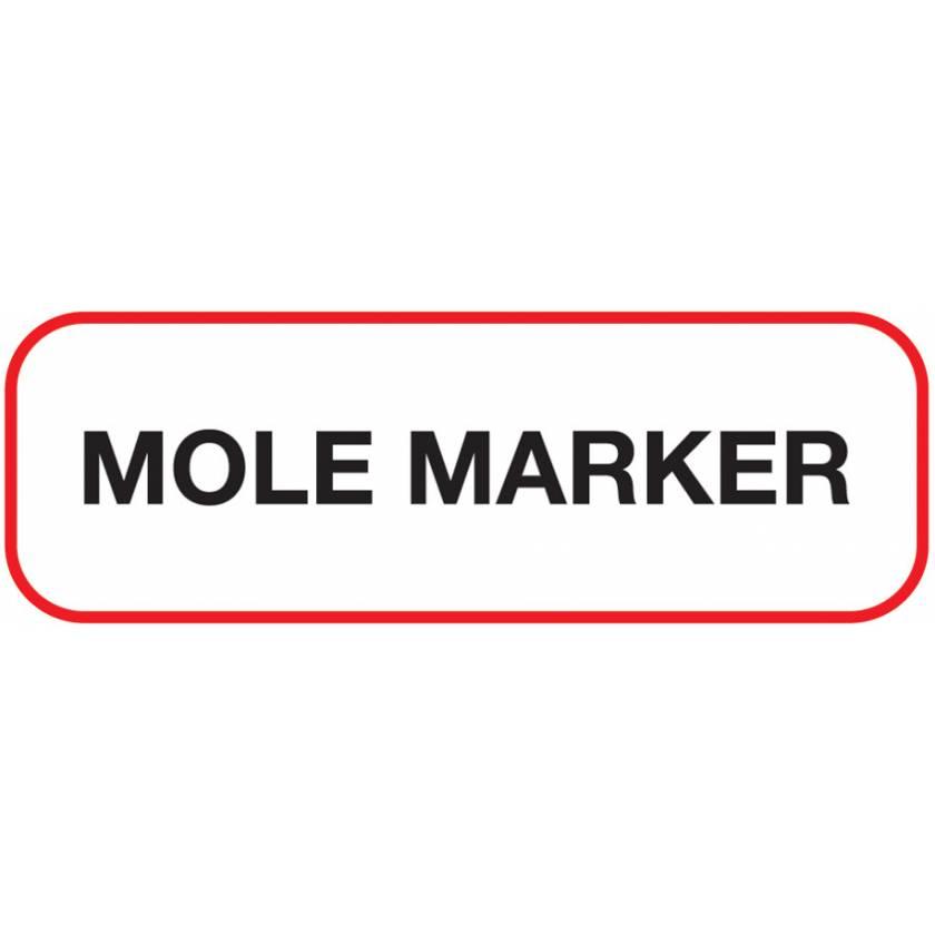 MOLE MARKER Label