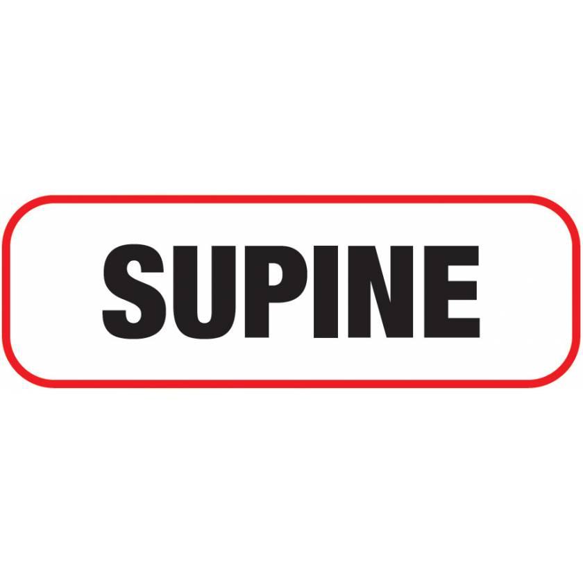 SUPINE Label