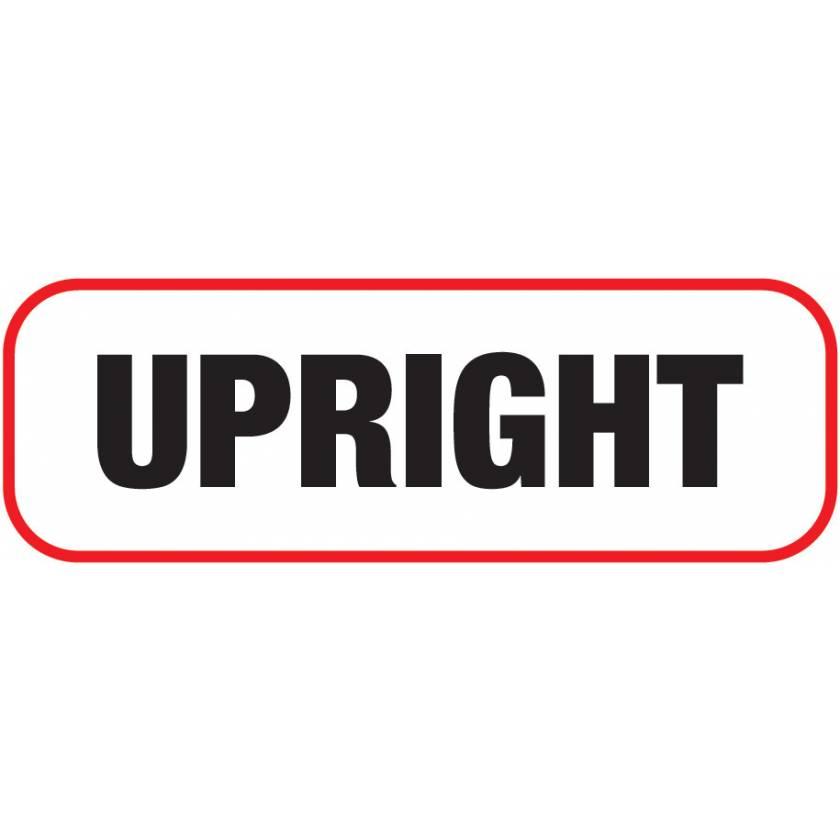 UPRIGHT Label
