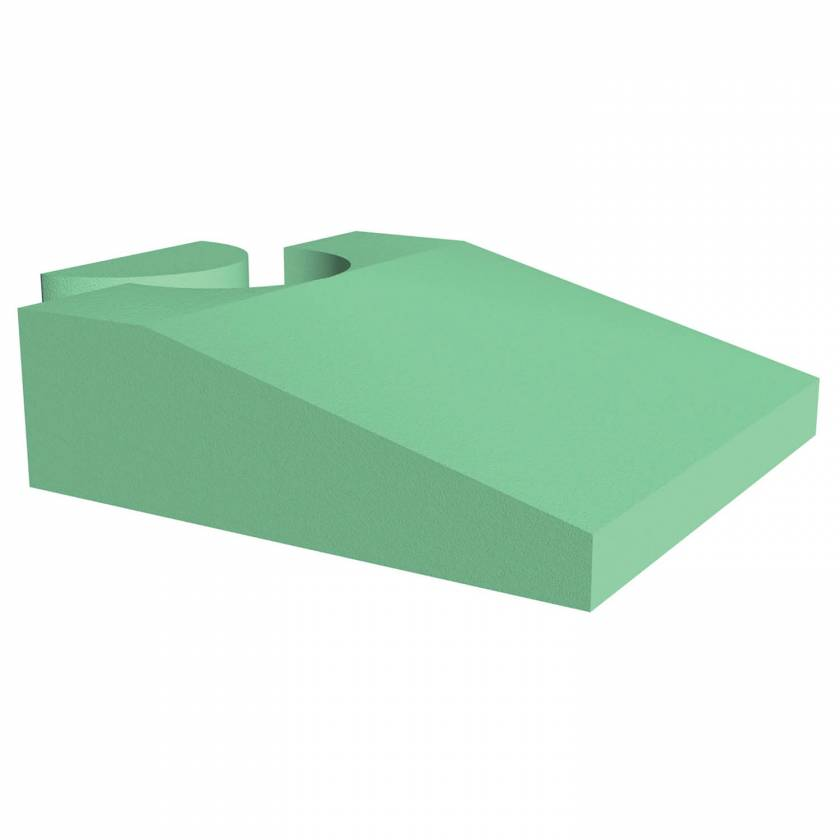 """Techno-Aide YCUZ Non-Stealth Coated Endo-Ultrasound Wedge Sponge - 20""""L x 20""""W x 6""""H"""
