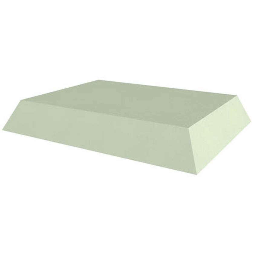 """Techno-Aide YFBY Stealth Non-Coated (Core) 4"""" Rectangle - 21.5"""" W x 27.5"""" L x 4"""" H"""