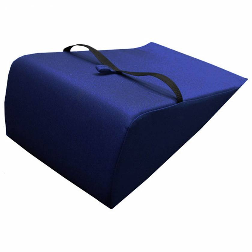 """Techno-Aide YVFV Vinyl Covered Comfort Pillow Body Wedge - 16"""" W x 25"""" L x 8.25"""" H"""
