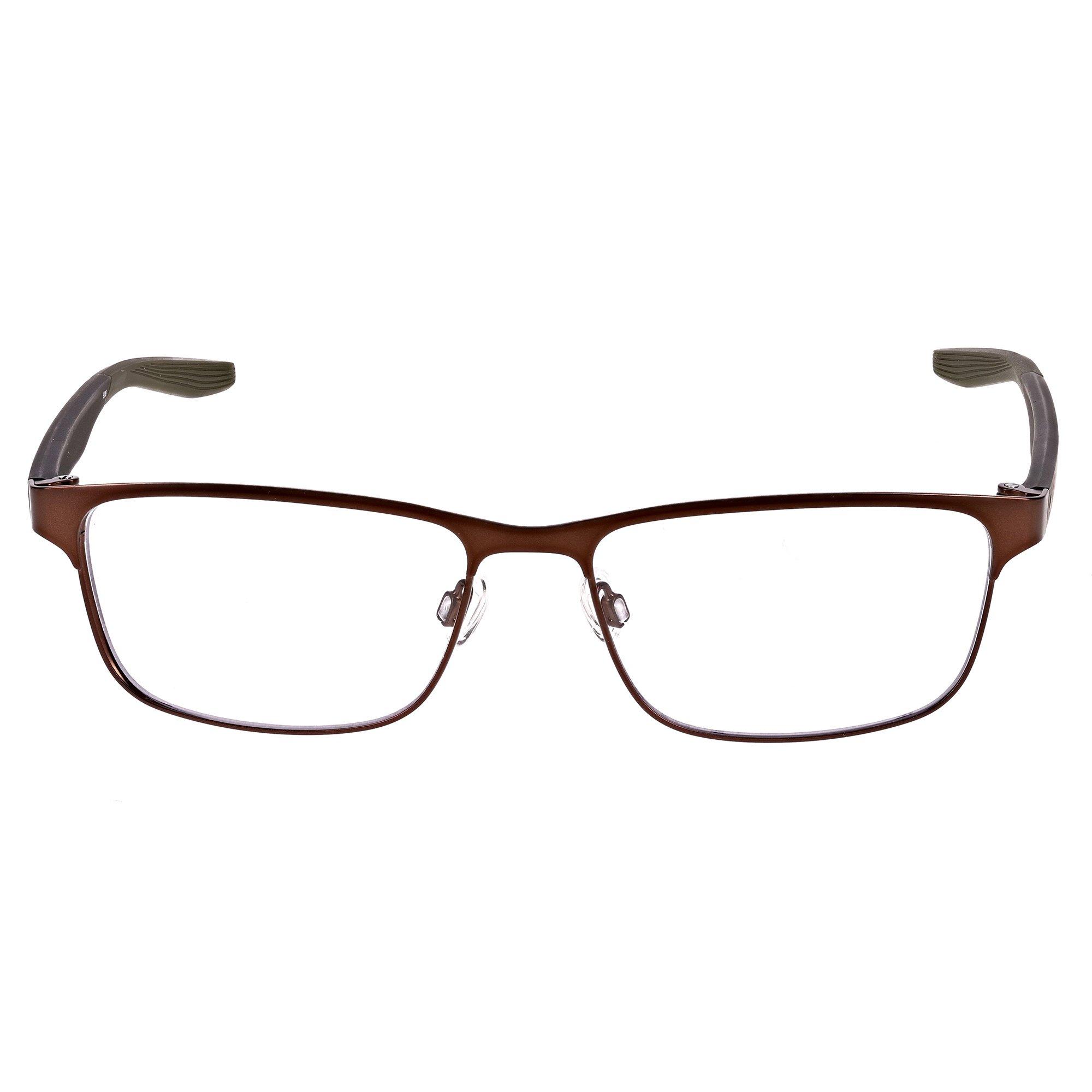palo Mal Pobreza extrema  Eyeglasses NIKE 8175 210 SATIN BROWN Sunglasses & Eyewear Accessories  Eyewear Frames