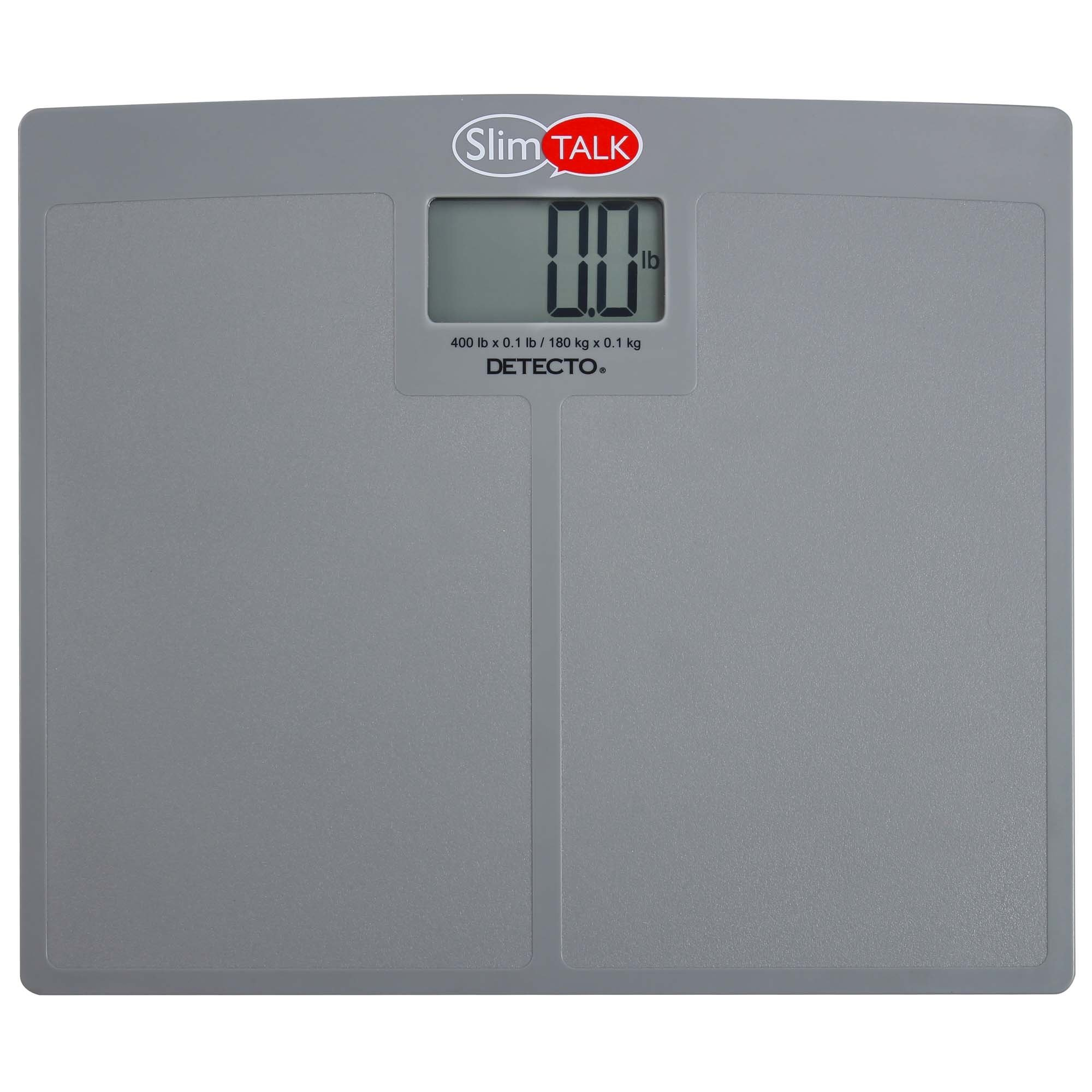Low Profile Talking Scale 400 Lb Capacity
