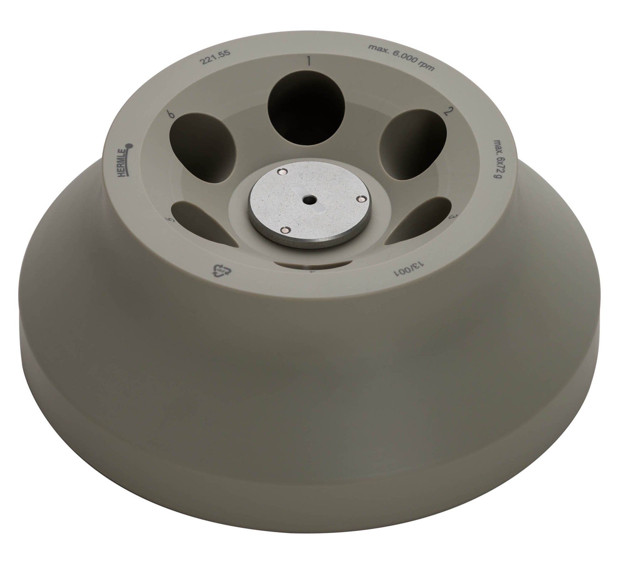 6 x 50ml Conical Rotor (6,000rpm/4,427xg) (for Z206-A only)