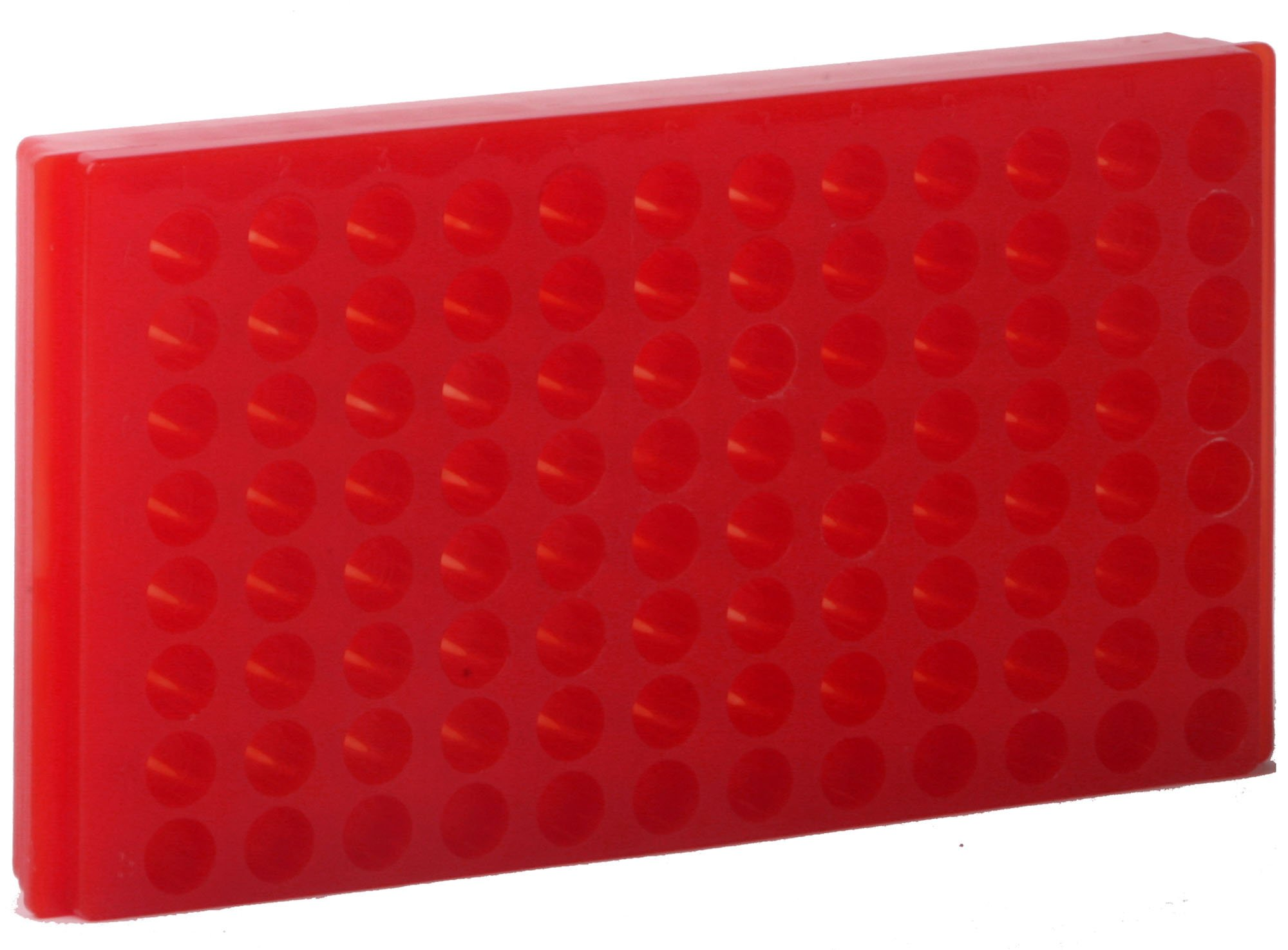 Autoclavable Assorted Pack of 5 Bio Plas 0091 Polypropylene 96 Well Reversible Microcentrifuge Tube Rack