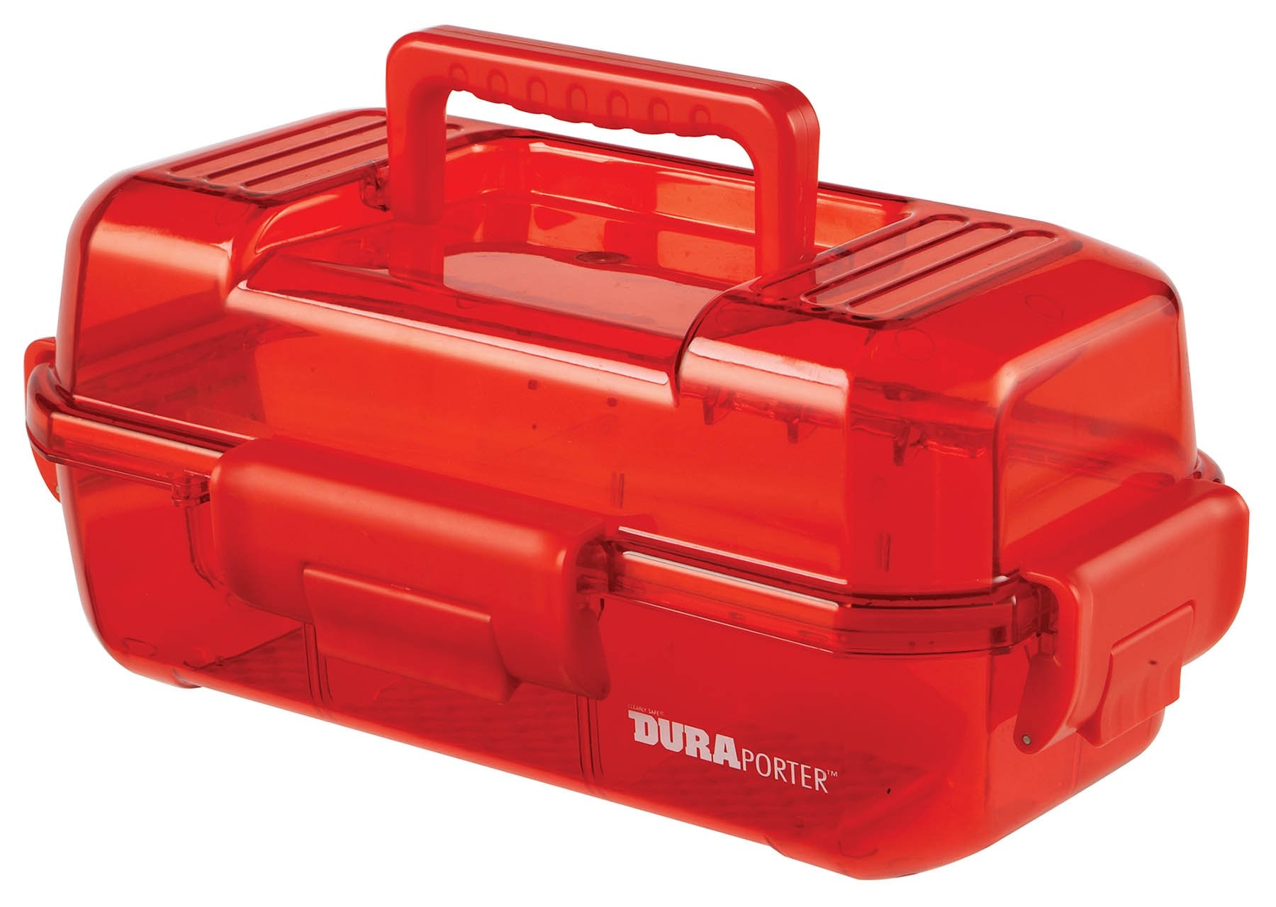 DuraPorter Transport Box - Red with Red Handle