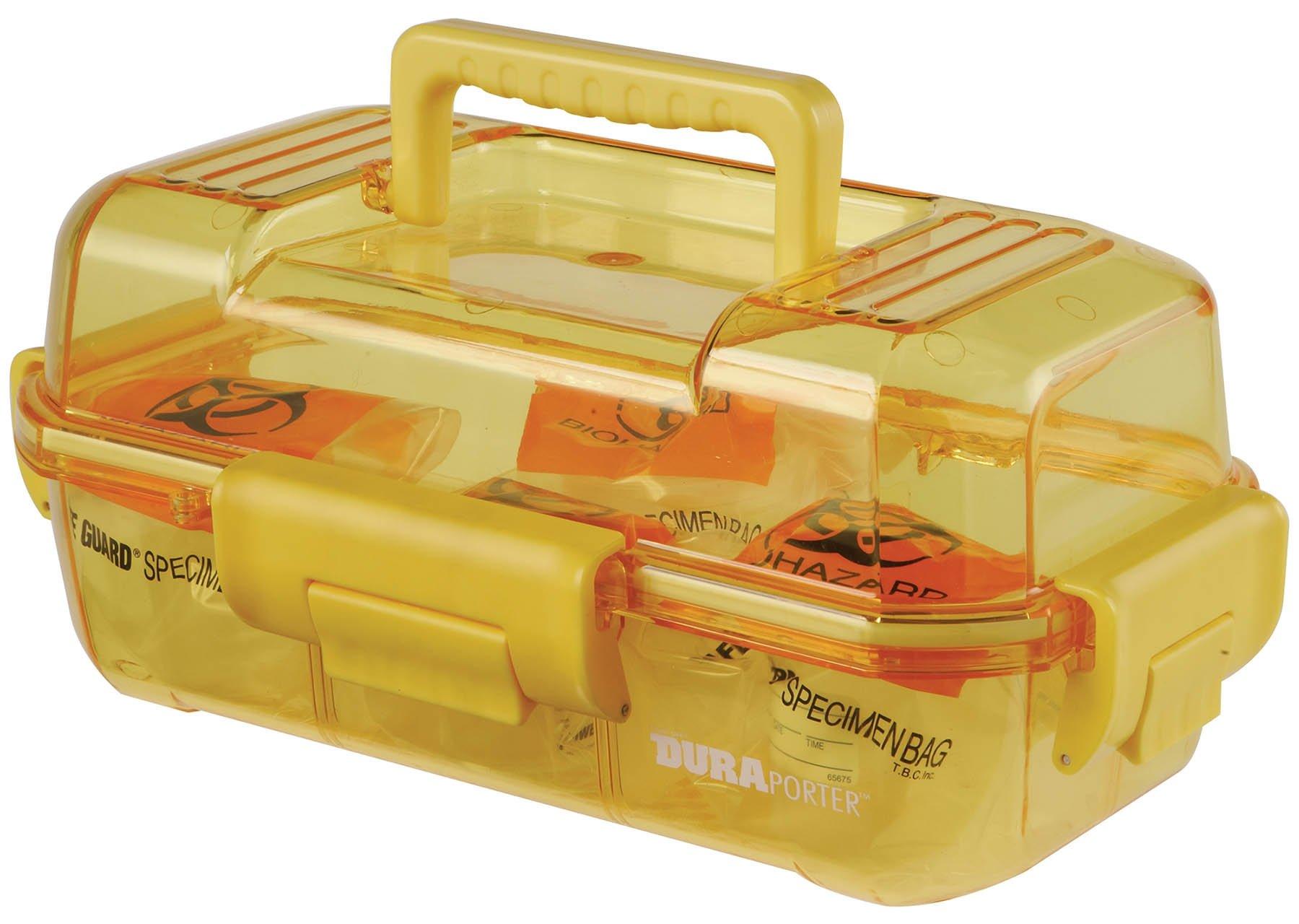 DuraPorter Transport Box - Yellow with Yellow Handle
