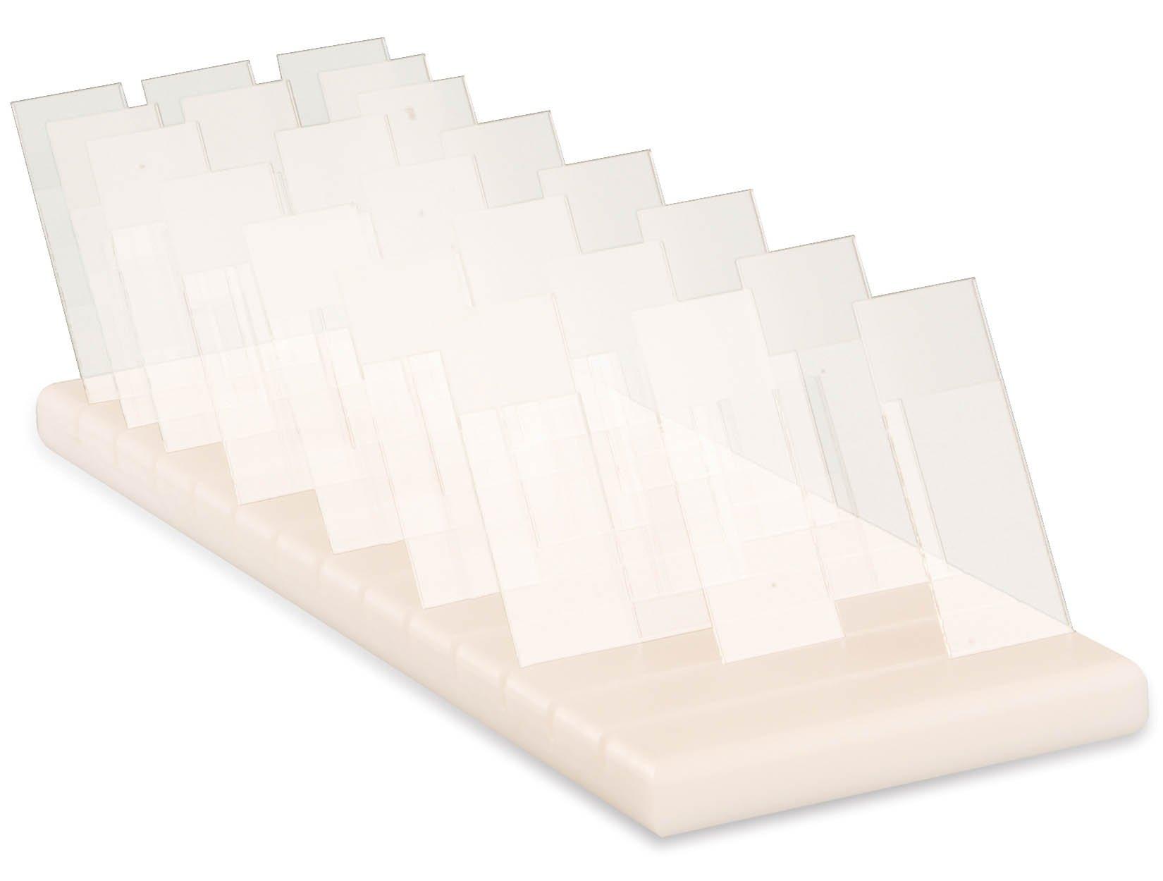 Polyethylene Slide Holders - Capacity 40 Slides