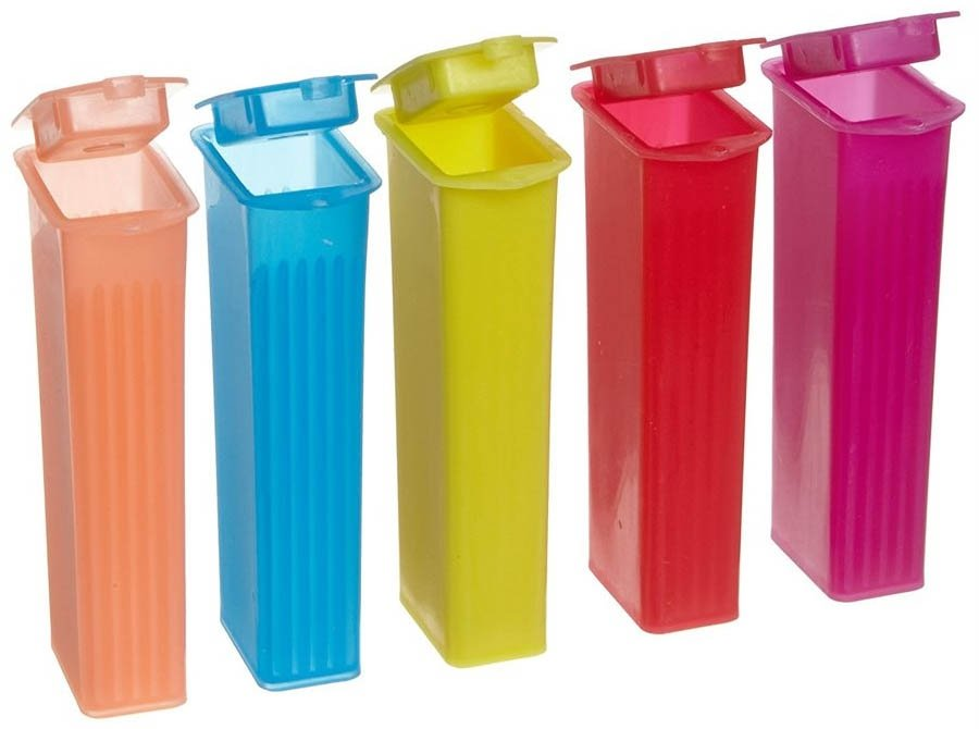 Polypropylene End Opening Slide Mailer 5-Place - Assorted Colors