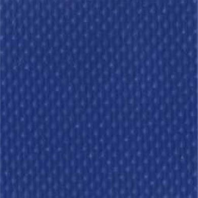 1-Piece Impervious Vinyl Strap with Metal Roller Friction Buckle - 9' - Blue