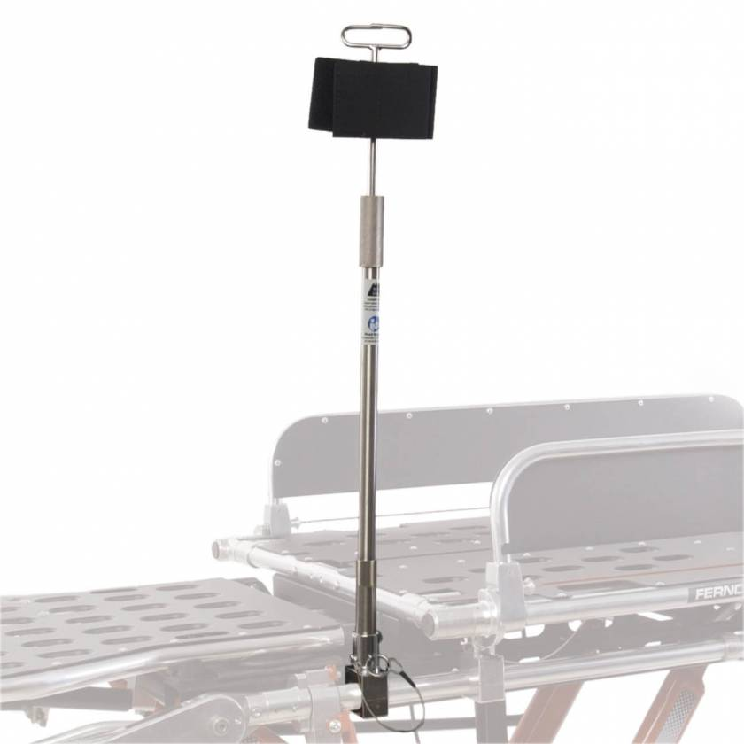 Ferno 0087173 Model 513-LBS IV Pole for LBS and LBS Jr Bariatric Board