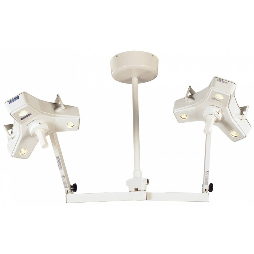 Outpatient II Double Heads Ceiling Mount Procedure Light
