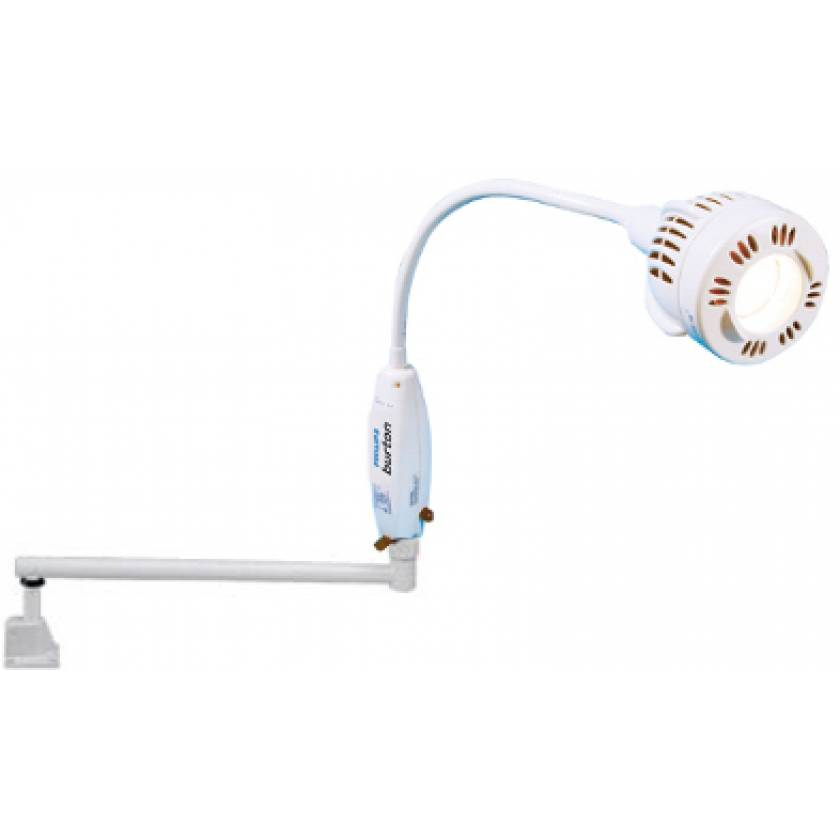 Gleamer Wide Beam Spot with Extension Arm & Universal Wall Mount Exam Light