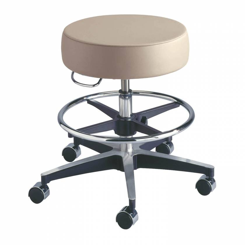 Model 11001FR Century Pneumatic Stool with Adjustable Footring