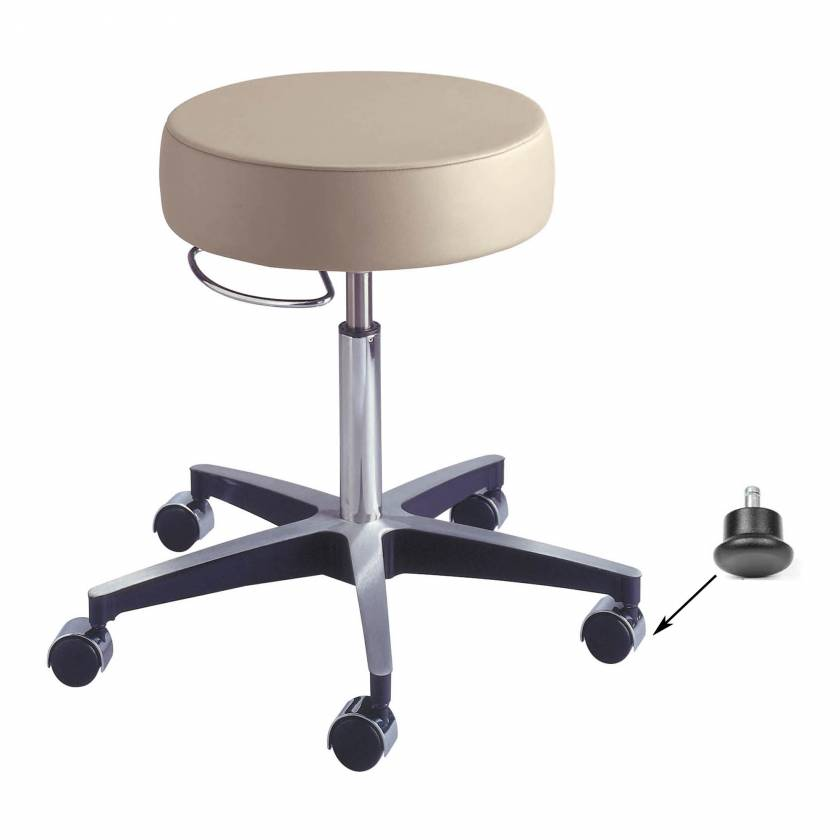 Model 11001G Century Pneumatic Stool with Glides