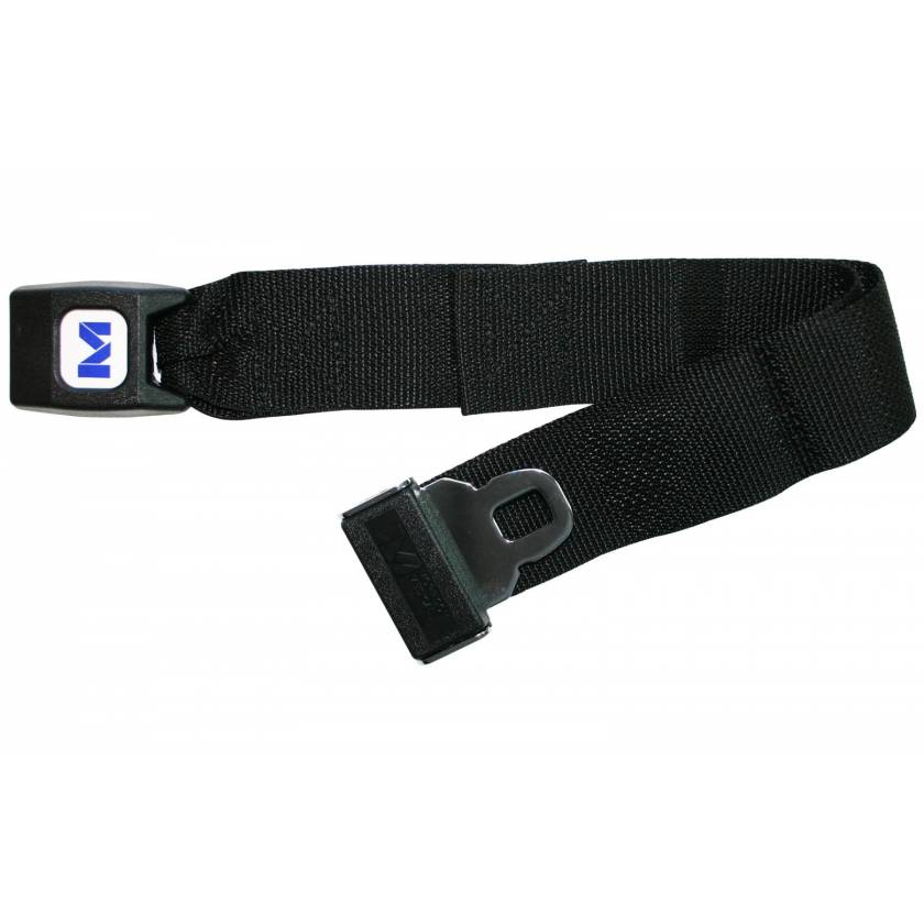 Polypropylene Extension Strap with Metal Push Button Buckle
