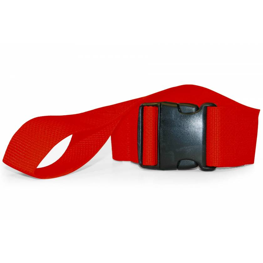 2-Piece Polypropylene Strap with Plastic Side Release Buckle & Loop-Lok Ends
