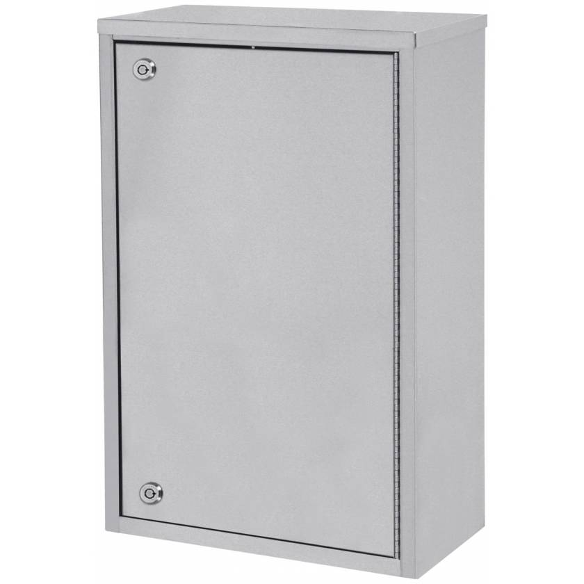 """Large Single Door, Double Lock Narcotic Cabinet - 24"""" H x 16"""" W x 8"""" D"""