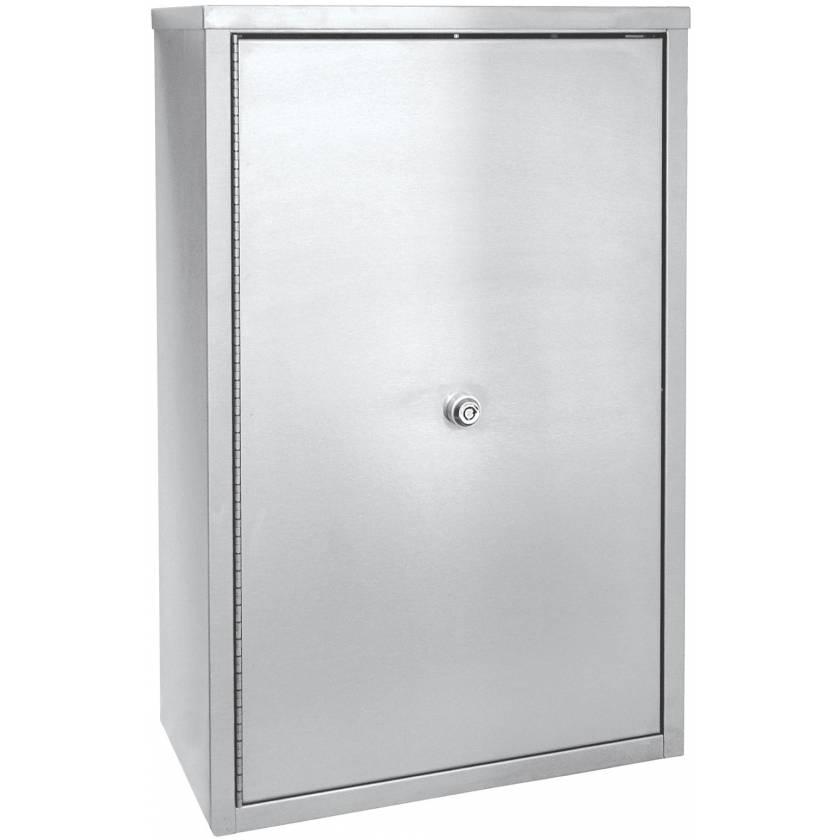 "Double Door, Double Lock Narcotic Cabinet - 15"" H x 11"" W x 4"" D"