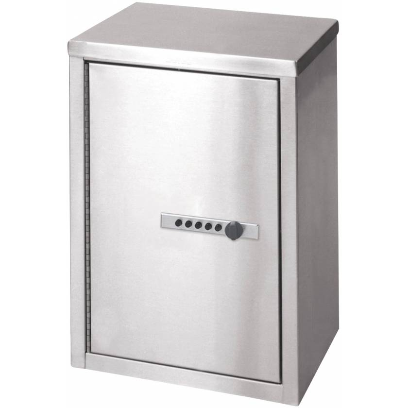 """Narcotic Cabinet with Push Button Lock - 15"""" H x 11"""" W x 8"""" D"""