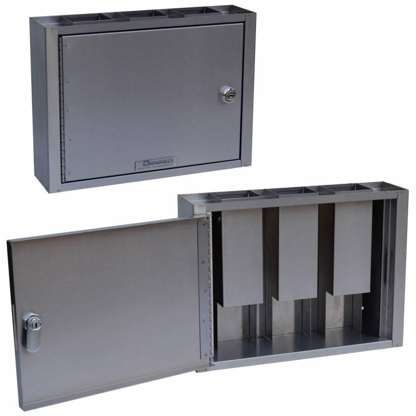 OmniMed 181790 Specimen Dropbox Cabinet with Key Lock