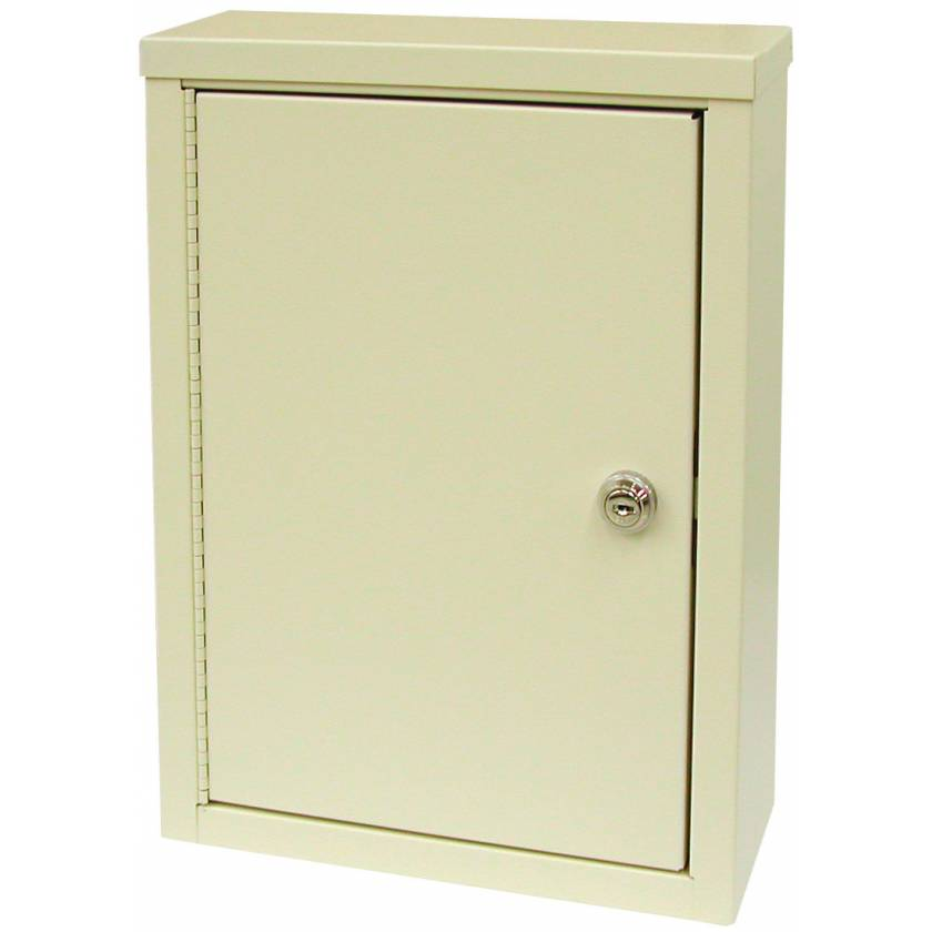 """Small Economy Narcotic Cabinet, Double Door, Double Lock - 15"""" H x 11"""" W x 4"""" D"""