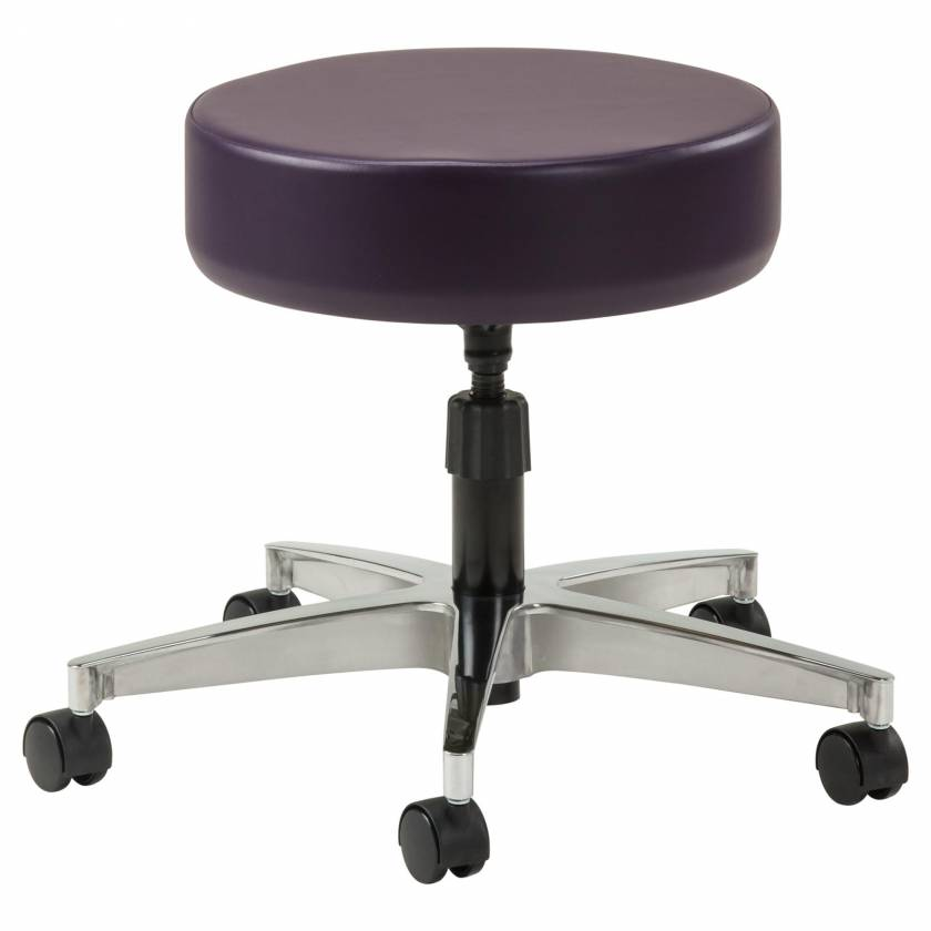 "Clinton Model 2150 5-Leg Spin-Lift Stool With 23"" Cast Aluminum Base"