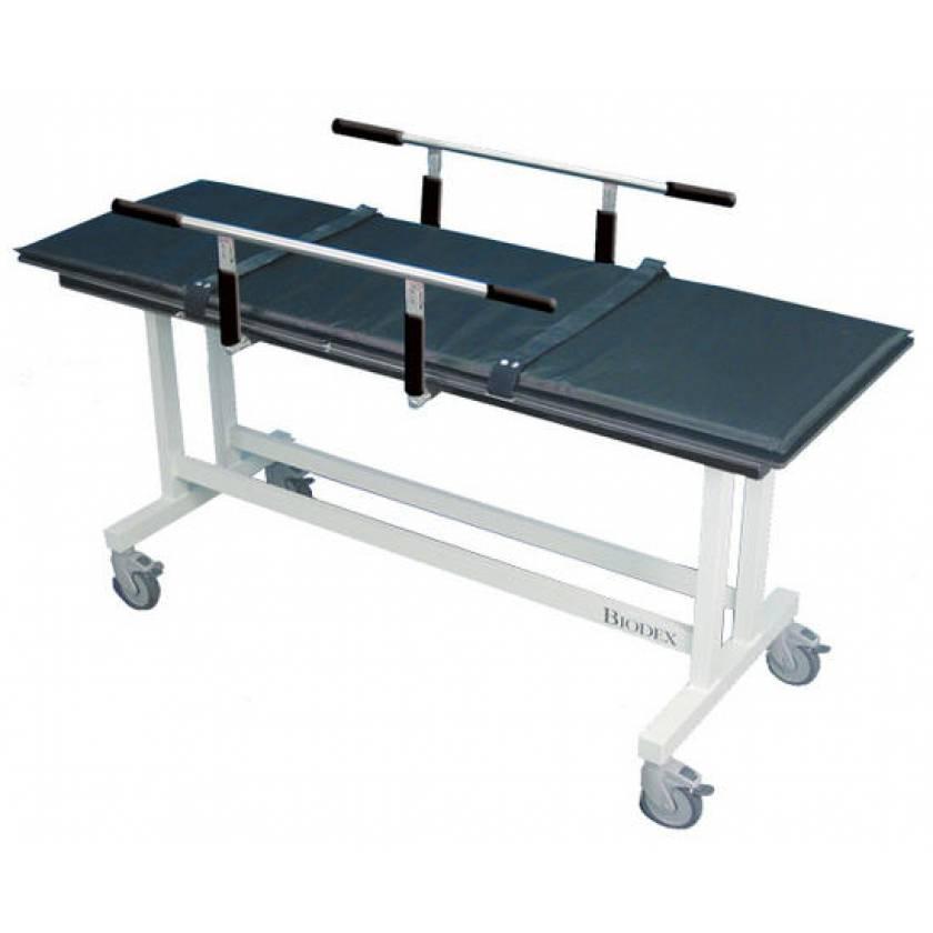 MRI Stretcher with Guard Rails