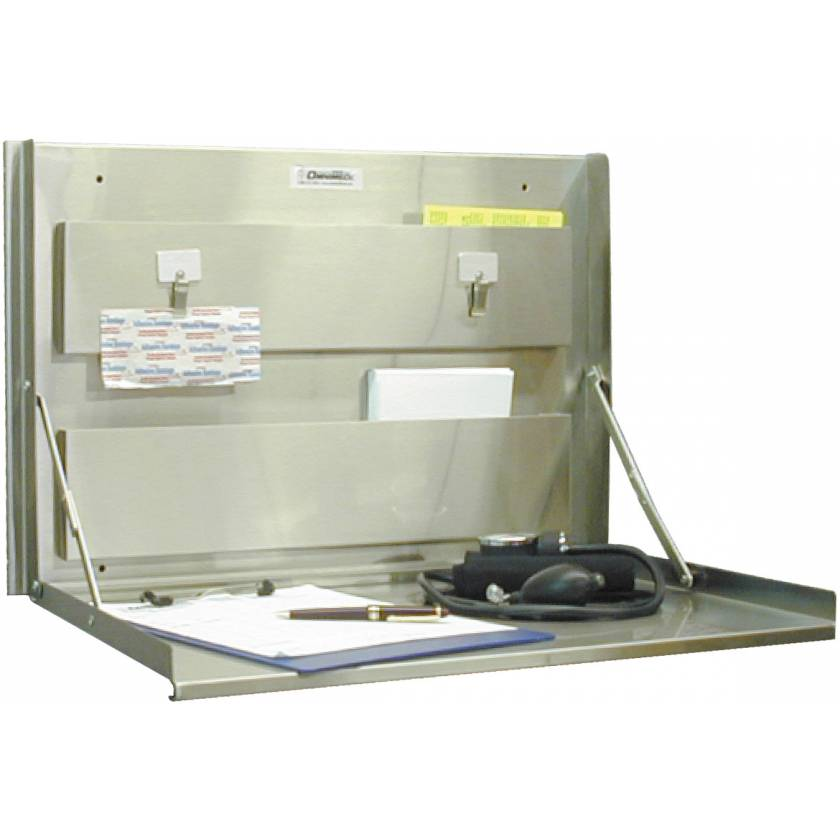 Standard Stainless Steel Wall Desk