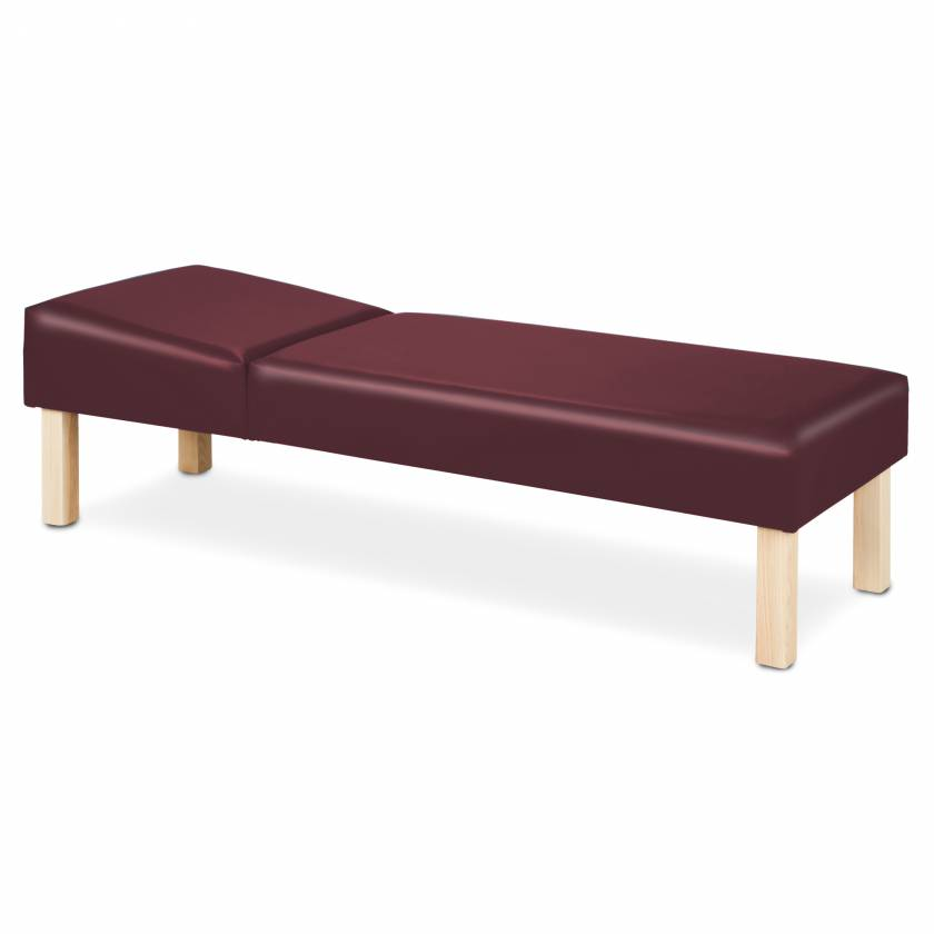 Clinton Model 3620 Recovery Couch with Hardwood Legs
