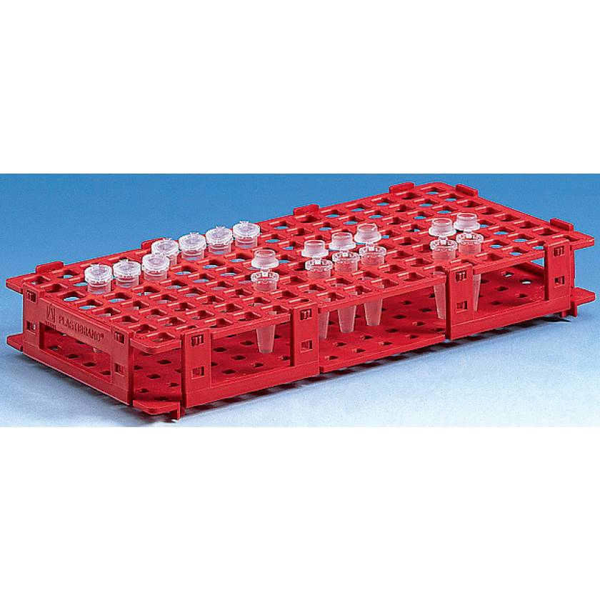 BrandTech Microcentrifuge 84-Tube Rack (6 x 14 Positions)