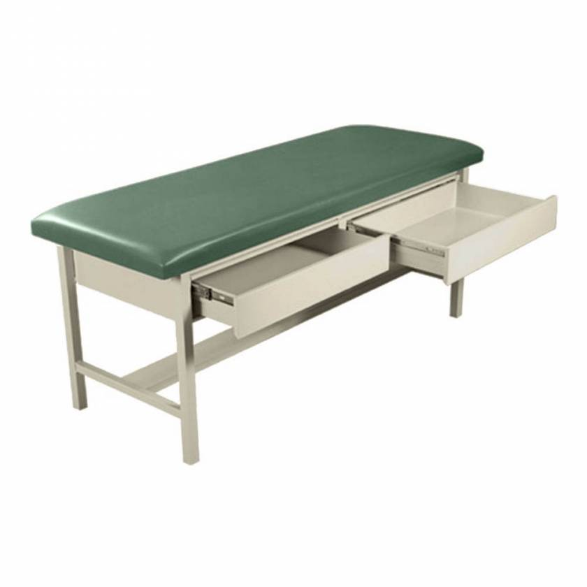 Model 5585 H Brace Treatment Table with Drawers
