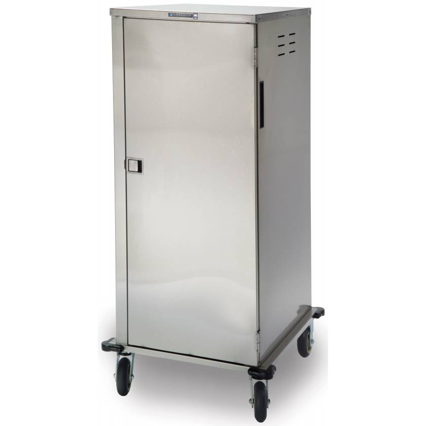 Lakeside Stainless Steel Low Profile Elite Enclosed Tray Delivery Carts