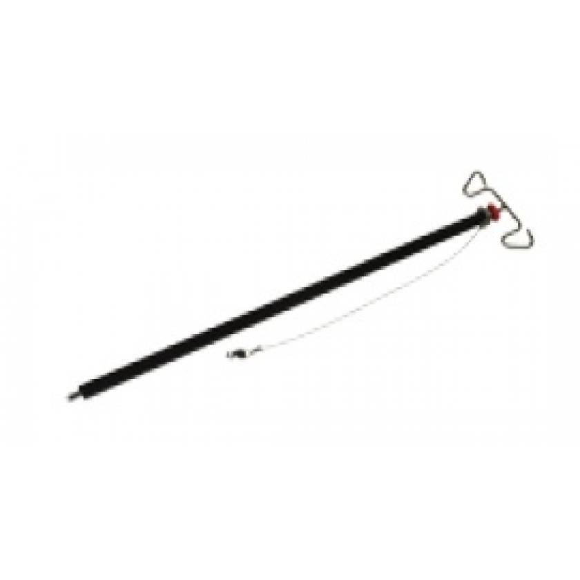 Pedigo Adjustable IV Pole With Storage Tube & Cable